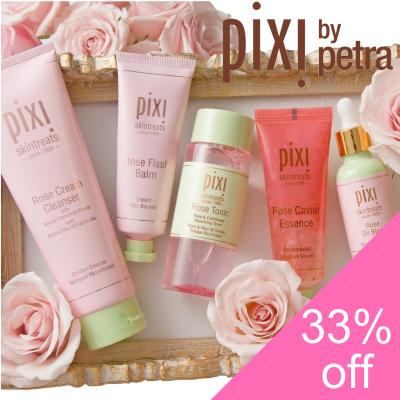 33% off Pixi Skincare