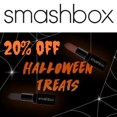 20% off Smashbox Selected Halloween Treats