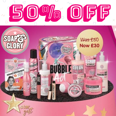 50% off Soap & Glory Zuki X S&G: BUBBLE ACT™
