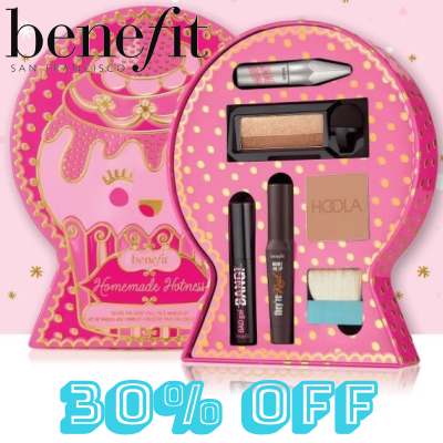"""30% off Benefit Homemade Hotness """"recipe for sexy!"""" full-face makeup kit worth £53.09"""