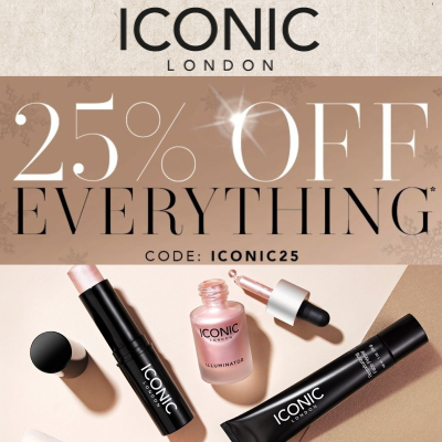 25% off everything at Iconic London